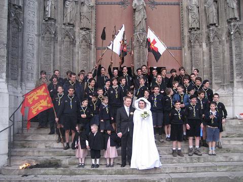 Mariage à l'église PandaCox